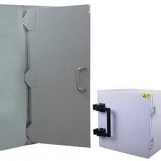 Jaulas de Faraday y cajas de prueba blindadas