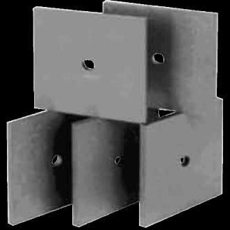 3610 - Azulejos absorbentes de ferrita UHF